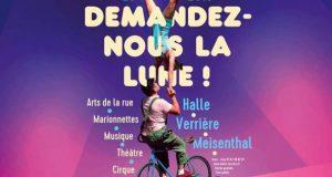 Rendez-vous incontournable des arts de la rue, le festival Demandez-nous la lune revient pour une 13e édition, les 25 et 26 mai à la Halle Verrière de Meisenthal et dans les alentours.