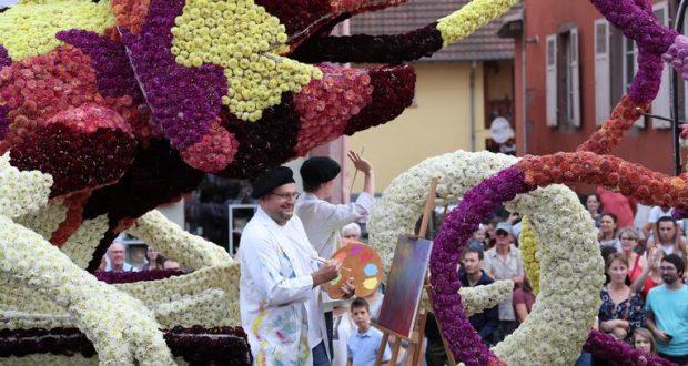 Cette année, le Corso Fleuri fête sa 9e décennie, rien que ça ! Rendez-vous les 10 et 11 août pour un week-end de festivités dans les rues de la ville de Sélestat.