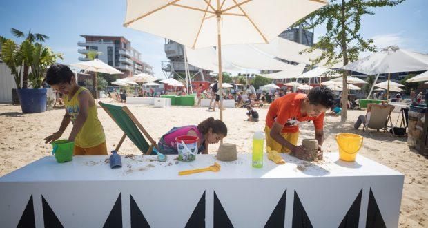 Vous rêvez de sable chaud ? De fraîcheur et de détente ? N'hésitez plus: rendez-vous aux Docks d'été sur la presqu'île Malraux du 7 juillet au 1er septembre !