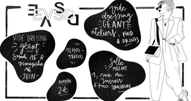 EVSD, l'événement mode qui sauve vos dressings, vos portes-monnaie, et un peu la planète aussi, est de retour ! Rendez-vous les 15 et 16 juin à Salle Mozart de Strasbourg pour deux jours de vide dressing.