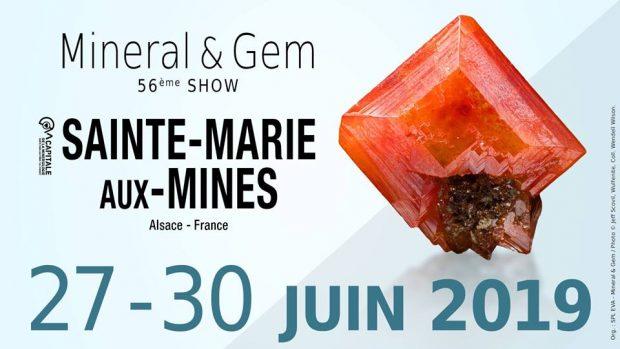 Le rendez-vous des amateurs de minéralogie, Minéral & Gem, est de retour pour une 56e édition ! Les 29 et 30 juin, toute la ville de Sainte-Marie-aux-Mines s'animera autour des différents espaces : la Zone Minéral, la Zone Gem, l'Espace Bien-Être et le Pôle Aalberg (joaillerie et bijoux fantaisie).