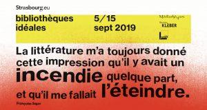 Le premier rendez-vous littéraire de France, les Bibliothèques Idéales, est de retour pour une nouvelle édition du 5 au 15 septembre dans différents lieux de la ville de Strasbourg.