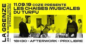 Après une première éditionmémorable, Les Chaises Musicales du Turfu sont de retour - pour vous jouer de mauvais tours - le 11 septembre à La Grenze !