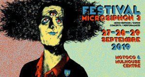 Le jeune festival mulhousien dédié à la micro-édition, Microsiphon, fait son retour du 27 au 29 septembre dans le centre-ville de Mulhouse et au Motoco. Au programme de ce troisième opus : de la micro-édition bien évidemment, des expositions, des concerts ainsi que des performances.