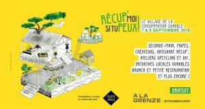 Les 7 et 8 septembre, le lieu alternatif et éphémère La Grenze s'animera à l'occasion de l'événement Récup' moi si tu peux !.