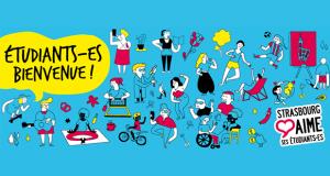 Initiative partenariale de la Ville et l'Eurométropole de Strasbourg, Strasbourg aime ses étudiant-e-s propose chaque année aux étudiant-e-s des événements gratuits pour découvrir Strasbourg, son riche patrimoine et sa culture bouillonnante, ses institutions emblématiques et ses acteurs clés.
