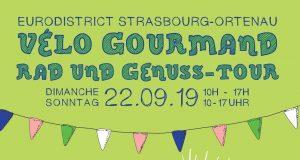 Allez hop, tous en selle ! Après le grand succès des deux derniers opus, le Vélo Gourmand de l'Eurodistrict Strasbourg-Ortenau revient pour sa 3e édition le dimanche 22 septembre.