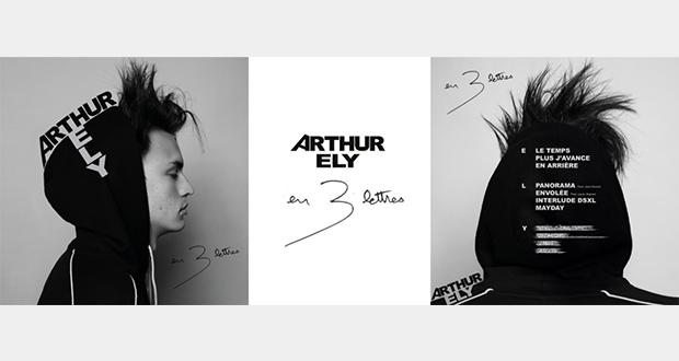 Repéré fin 2018 avec son premier EP Standard, le jeune artiste charismatique qu'est Arthur ELY a dévoilera le 20 septembre son premier album En 3 lettres sur le label Soixante Sept Mille.