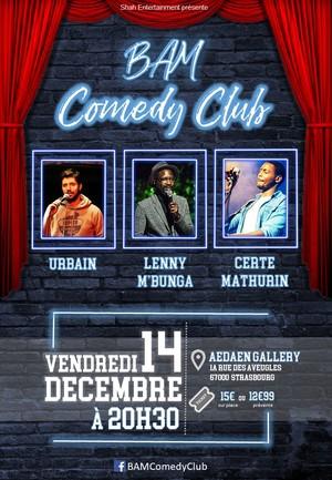 image - BAM Comedy Club #4