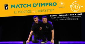 image - Match d'impro : Le Prestige vs Starsystem