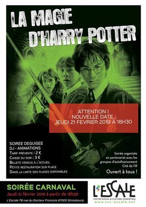 image - Soirée de Carnaval spéciale Harry Potter