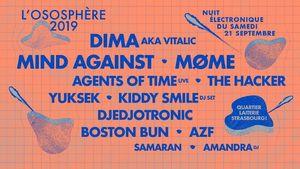 Ososphère 2019 : Dima + Mind Against + Møme