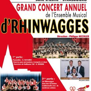 Concert annuel : Ensemble musical d'Rhinwagge