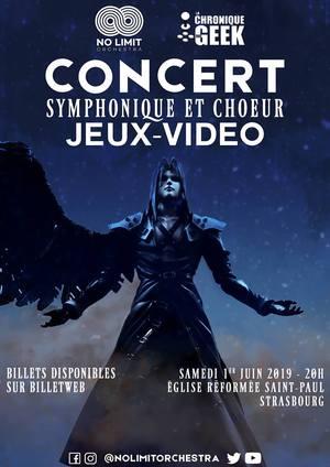 Concert Symphonique et choeur jeux vidéo Nolimit Orchestra