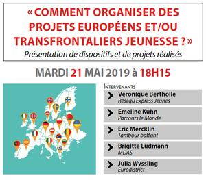image - Comment organiser des projets européens et/ou transfrontaliers Jeunes