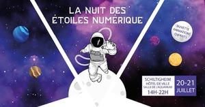 image - La nuit des étoiles numérique