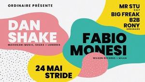 image - Ordinaire invite Dan Shake + Fabio Monesi