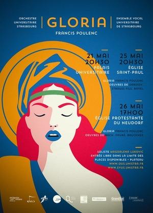 image - Concerts partagés OUS & EVUS // Gloria de Poulenc