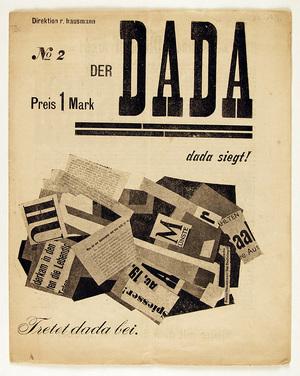 Le météore dada: la collection des imprimés dada de la bibliothèqu