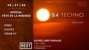 image - B4 Techno - Fête de la musique