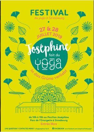 image - Festival Joséphine fait du YOGA 2019