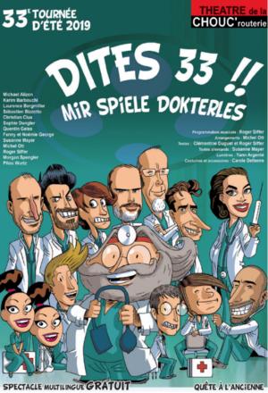 """33e tournée d'été  """"Dites 33 !!"""""""