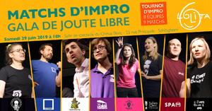 image - Matchs d'impro : Gala de Joute Libre