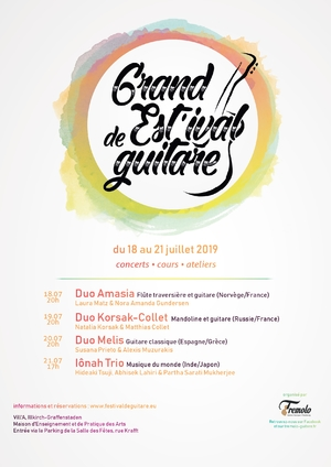 image - Grand Est'ival de Guitare 2019