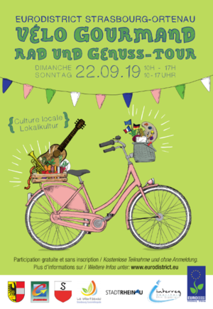 Vélo Gourmand 2019 de l'Eurodistrict