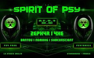 Spirit of Psy avec Zephyr