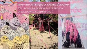 image - La Cabane d'EXPOPAIX, une démarche artistique non-violente