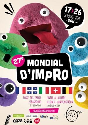 image - 27e Mondial d'Impro : Suisse - Québec