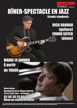 Erwin Siffer et Rick Hannah - Strasbourg