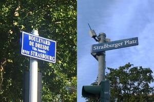 Boulevard de Dresde // Straßburger Platz – en ligne