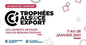 Trophées Alsace Export 2020 - 100% digital