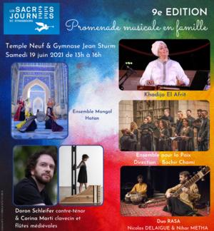 PROMENADE MUSICALE, Cinq Religions et Spiritualités à découvrir