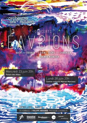 Evasions - Concerts symphoniques de l'Orchestre Universitaire