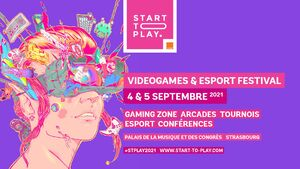 Start To Play 2021 - Videogames and Esport Festival