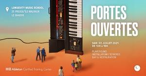 Portes ouvertes de la Longevity Music School