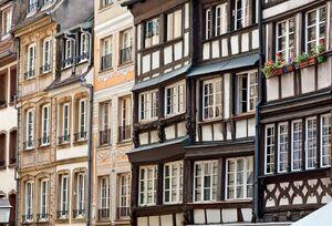 Étonnants décors de façades
