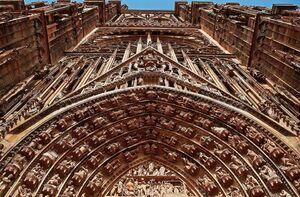 La cathédrale vue de l'extérieur
