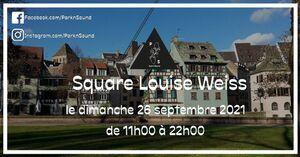 The End Square Louise-Weiss, par Park'n'Sound