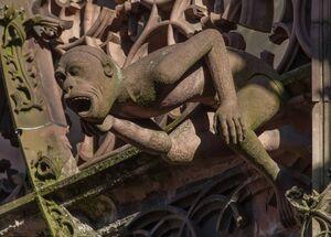 Le bestiaire dans la ville, de la cathédrale au Pont du Corbeau
