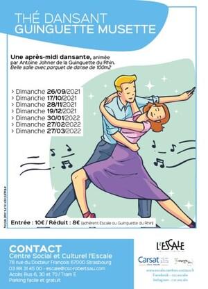 Thés Dansants – Guinguette Musette