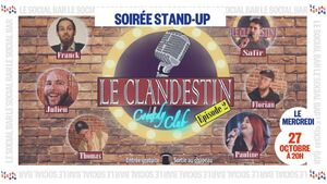 Le Stand up du Clandestin Comedy Club