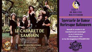 Spectacle de Danse Burlesque : Les Sœurs de Minuit