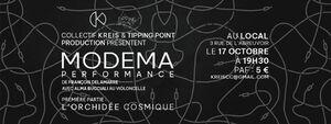 MODEMA - performance avec Alma Bucciali + l'Orchidée Cosmique