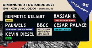 MEGABOOM OT w/ Hermetic Delight, BBCC, Pauwels, Hassan K, Kevin Diesel