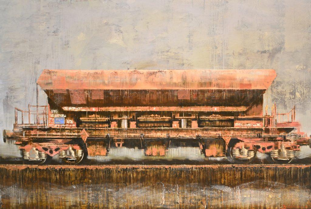 Wagon, 170x115 cm.