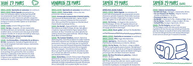 programme Giboul'off 2014-2